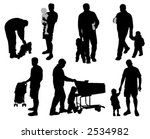 daddy's time  vector... | Shutterstock .eps vector #2534982