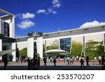 berlin  germany   august 24 ... | Shutterstock . vector #253570207