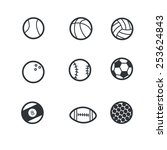 sport icon set   Shutterstock .eps vector #253624843