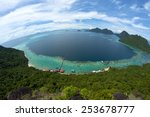 Fish Eye Panoramic View Of Tun...