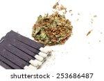 marijuana  | Shutterstock . vector #253686487