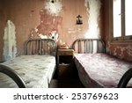 creepy dirty and abandoned...   Shutterstock . vector #253769623