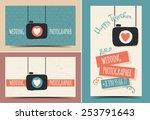 creative business card... | Shutterstock .eps vector #253791643
