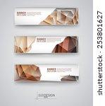 business design templates. set... | Shutterstock .eps vector #253801627