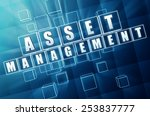 asset management   text in 3d... | Shutterstock . vector #253837777