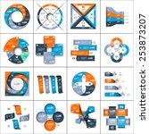 Modern Paper Infographics Set...