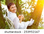 Relaxed Senior Woman Taking A...