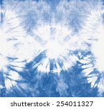 abstract tie dyed fabric... | Shutterstock . vector #254011327