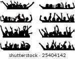 push your hands up 2 | Shutterstock .eps vector #25404142