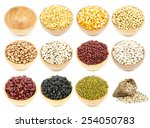 Collection Of Legumes In The...