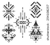vector tribal elements  ethnic