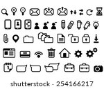 web icons flat design vector
