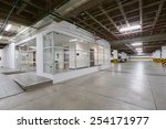 big empty garage | Shutterstock . vector #254171977