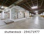 big empty garage | Shutterstock . vector #254171977