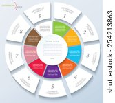 modern template for business... | Shutterstock .eps vector #254213863