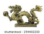 Formidable Dragon Figurine Metal