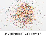 Colorful Sprinkles Spilled Fro...