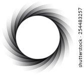 vector aperture   focus | Shutterstock .eps vector #254483257