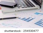 business of financial analytics ... | Shutterstock . vector #254530477