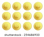 currency money  | Shutterstock .eps vector #254686933