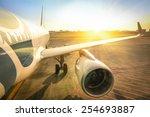 Airplane At Terminal Gate Read...
