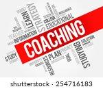 coaching word cloud  education...