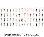 business idea teamwork... | Shutterstock . vector #254723653