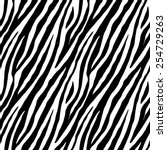 Zebra Skin Repeated Seamless...