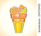 vector illustration logo for... | Shutterstock .eps vector #254755453