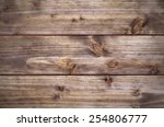 old  grunge wood panels used as ... | Shutterstock . vector #254806777