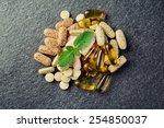 pills and multivitamins | Shutterstock . vector #254850037