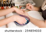 woman's hands at manicure... | Shutterstock . vector #254854033