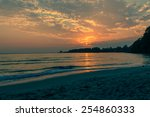 twilight sea | Shutterstock . vector #254860333