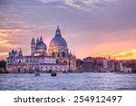 santa maria della salute church ... | Shutterstock . vector #254912497