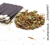 medical marijuana  | Shutterstock . vector #254964997