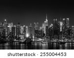 New York City With Skyscrapers...