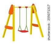 swing   Shutterstock .eps vector #255071317