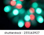 abstract texture  light bokeh... | Shutterstock . vector #255163927