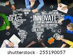 Small photo of Innovation Inspiration Creativity Ideas Progress Innovate Concept