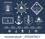 Set Of Nautical Logos  Badges...