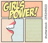 Girls Power Background ...