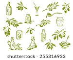 Green Olive Design Elements...