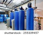 modern water treatment system...   Shutterstock . vector #255339457