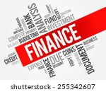 finance word cloud  business...