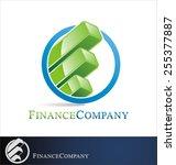 finance logo vector | Shutterstock .eps vector #255377887