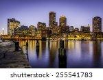 Panoramic View Of Boston In...