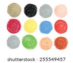 Pastel Vector Circles Set...