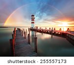 Lighthouse At Lake Neusiedl  ...