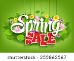 Spring Sale Word Hanging On...