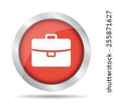briefcase icon  flat vector...